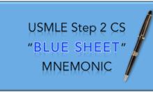 Best USMLE Step 2 CS Mnemonics - Easy CS Mnemonics