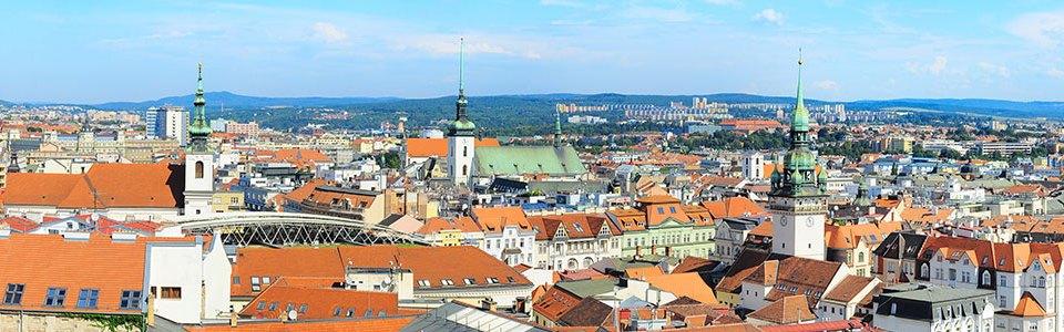 Brno city overview