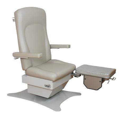 Bariatric Podiatry Chairs w 3 Function Foot Controls