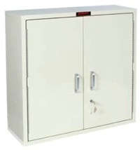 Large Double Door Single Lock Narcotics Cabinets