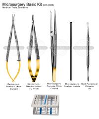Microsurgery Basic Kit Dental Instruments Medical Tools Shop