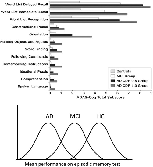 Cognitive Approaches to Early Alzheimer's Disease