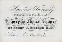 Henry J. Bigelow, M.D.
