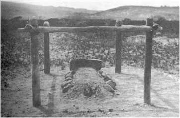 Túmulo do Pastor OE Davis perto da base do Monte. Roraima na Venezuela