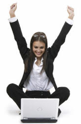 woman happy she passed the cpc exam