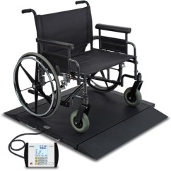 Portable Wheel Chair How To Tie A Person Detecto Brw1000 Bariatric Heavy Duty Wheelchair Scale