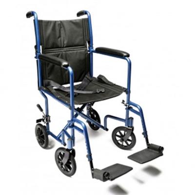 Everest  Jennings Aluminum Transport Chair  Companion Wheelchari