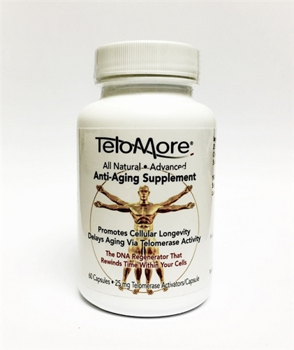 Telomerase Enzyme Production  Telomere Supplement