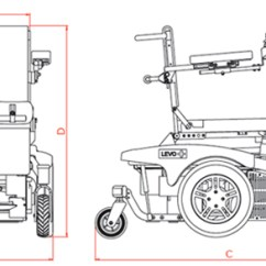 Wheel Chair Dimensions Adirondack Plastic Levo Combi Standing Power Wheelchair Wheelchairs Size