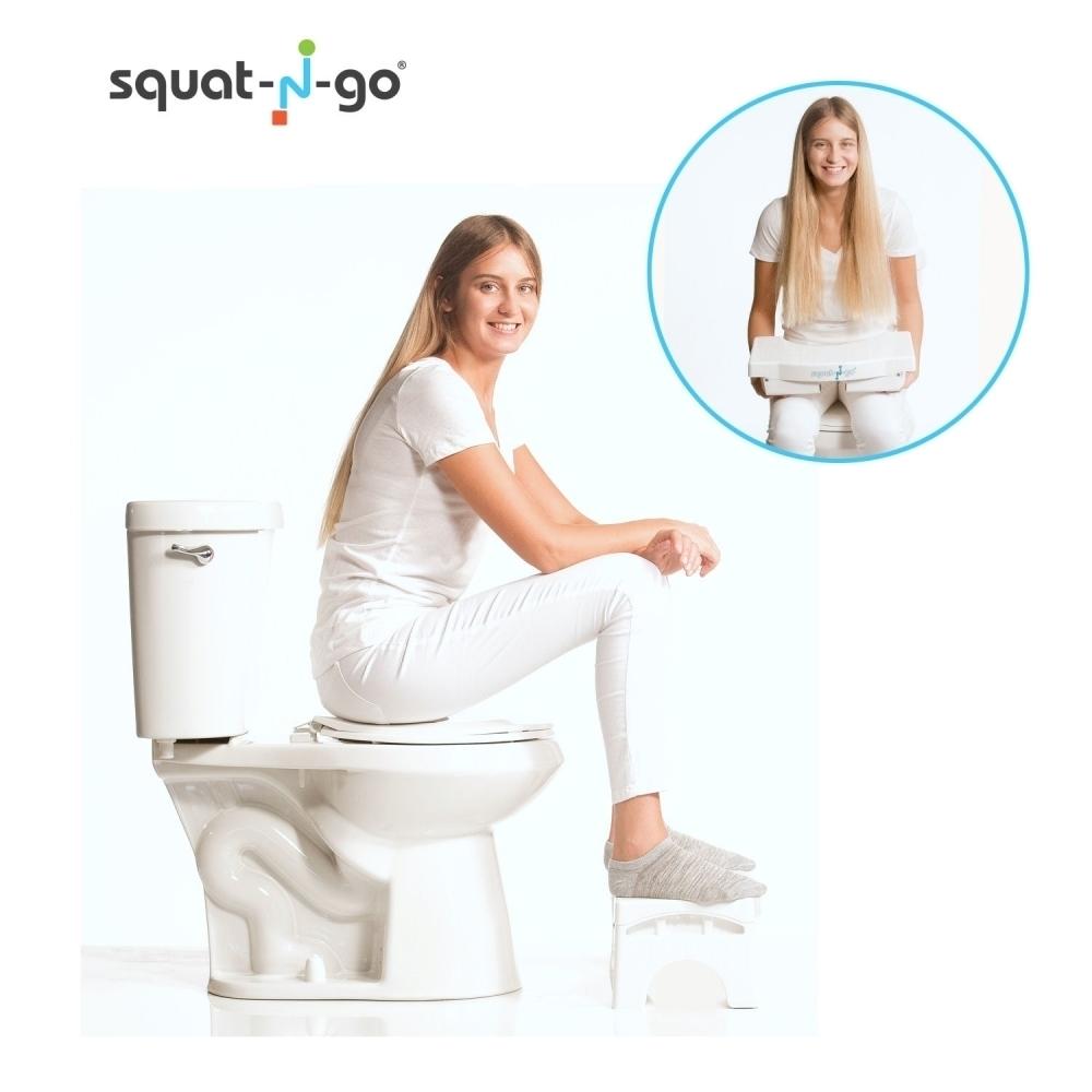 tabouret de toilette pliable