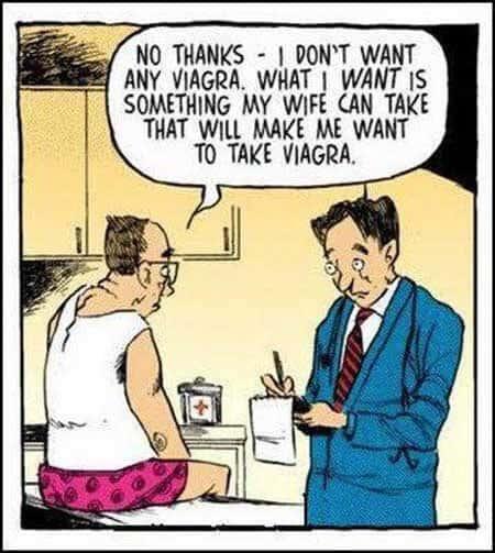 Viagra Wife Cartoon