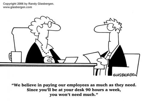 Signing Bonus Cartoon