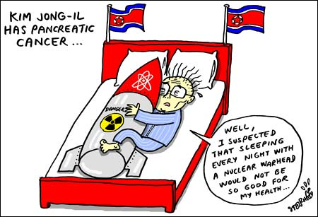 Pancreatic Cancer Cartoon