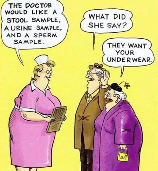 Funny Underwear Cartoon
