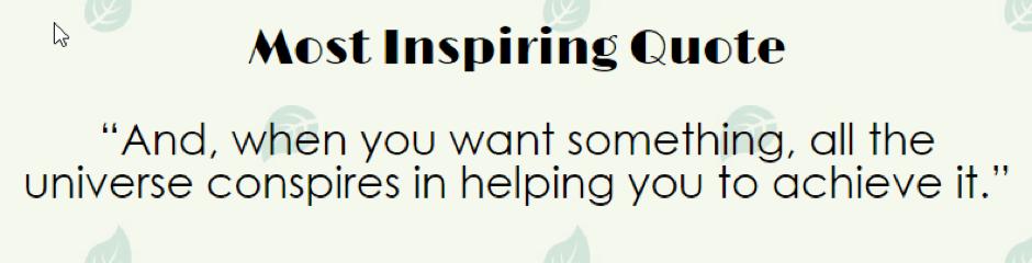 Paulo Coelho Inspiring Quote