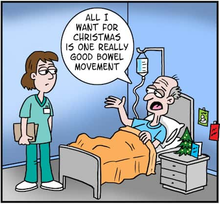 Good Bowel Movement Cartoon