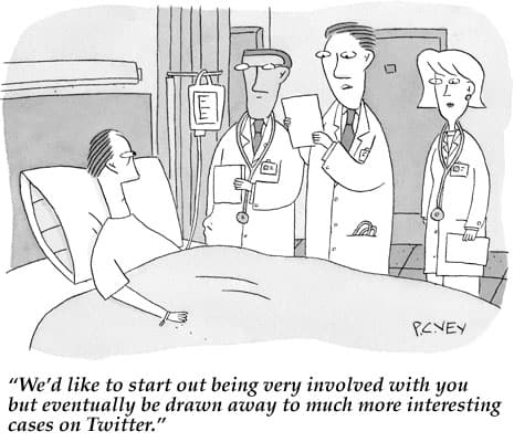 Medical Marketing Cartoon