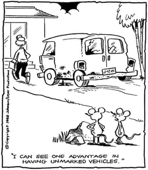 Pest Control Cartoon