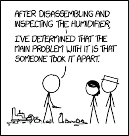 Funny Humidifier Cartoon