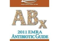 2011 EMRA Antibiotic Guide