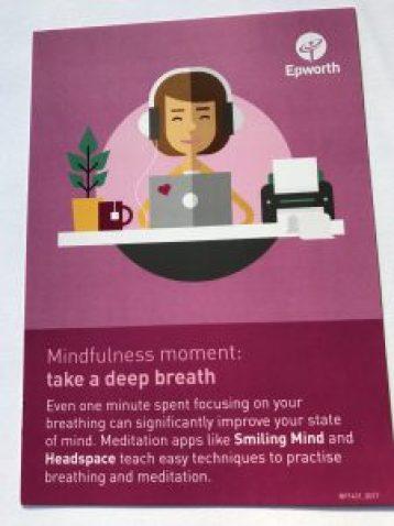 Mindfulness Deep Breath