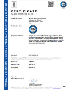 Medical Murray ISO 13485