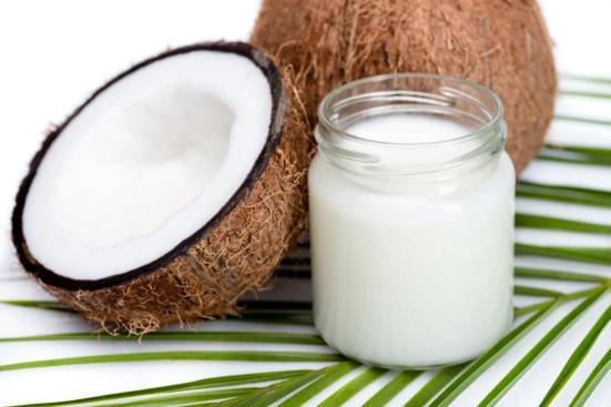 olio di cocco per pelle secca
