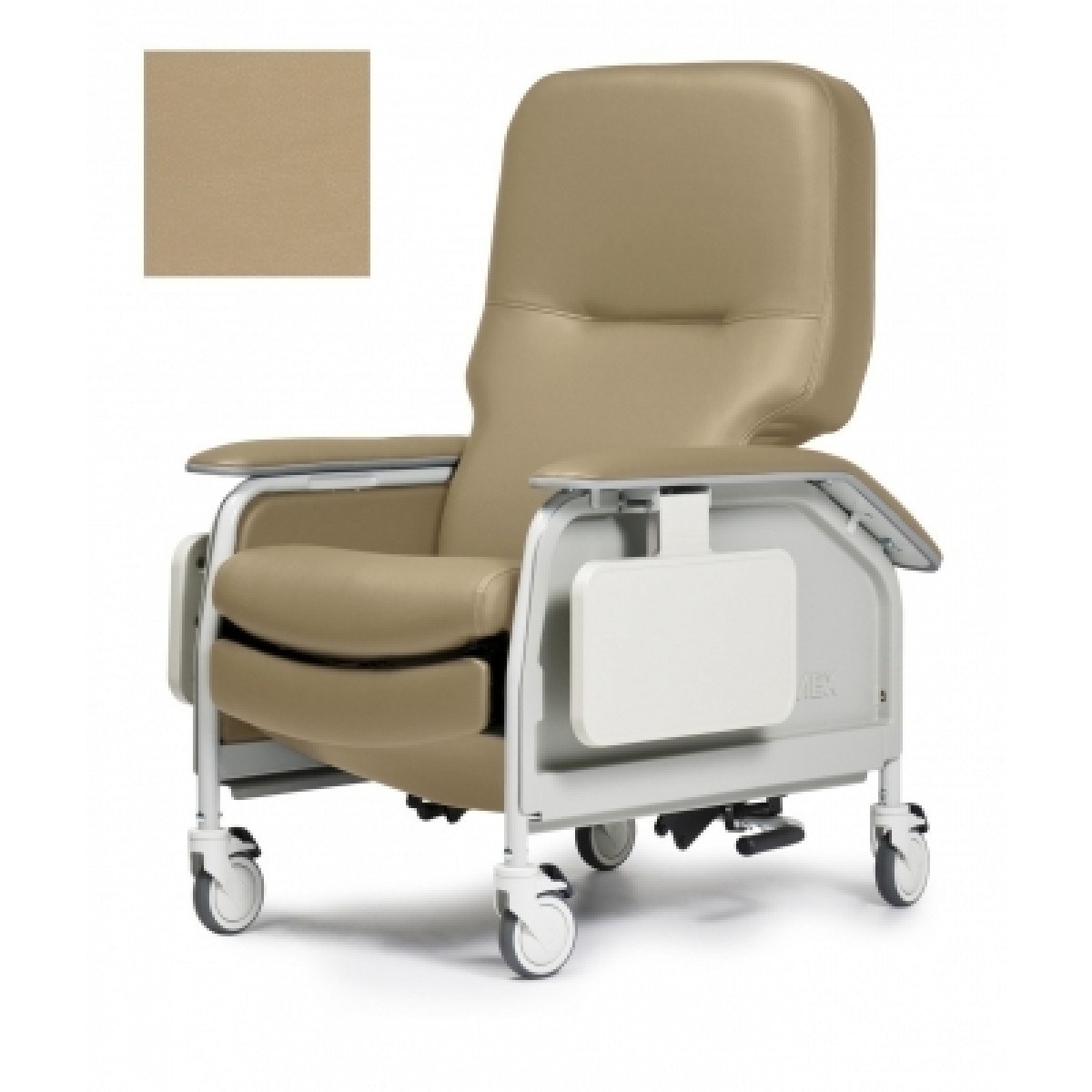 invacare clinical recliner geri chair office chairs for sciatica lumex 566g deluxe care1recliner