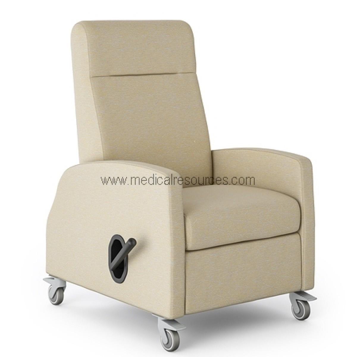 medical recliner chairs caravan zero gravity lounge chair la z boy rema mobile non locking back grade 3 vinyl