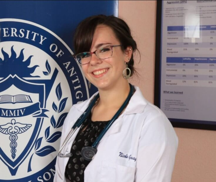 Nicole Gousy coach of Medical School Companion