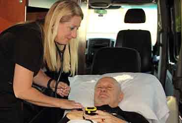 Long distance Medical Transport