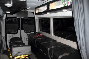 Medical Transport Interior