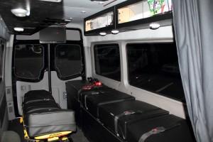 Medical Transport Interior