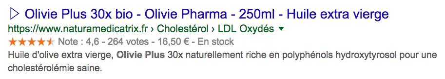Olivie Plus 30x BIO sur NATURAMedicatrix