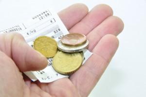 Ticket de caisse et monnaie