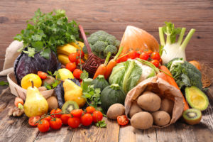 fruits légumes graines