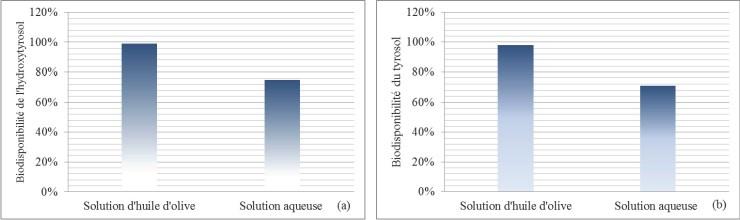 Biodisponibilité de l'hydroxytyrosol