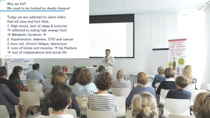 Conférence Dr. Jacob's® : Comment vivre longtemps en bonne santé ?