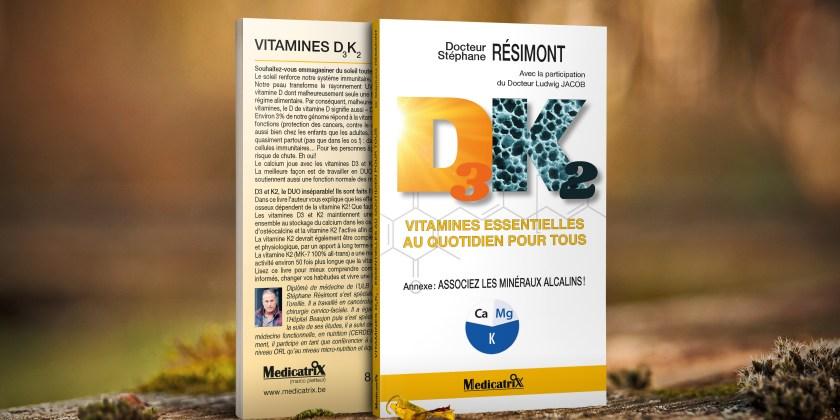Vitamines D3K2 - Dr. Stéphane Résimont