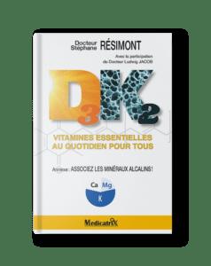 """Livre de poche """"Vitamines D3K2 : vitamines essentielles au quotidien pour tous — Docteur Stéphane Résimont"""