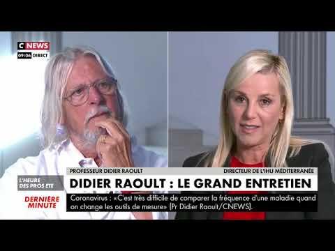 Pr Didier Raoult: Invité à CNEWS (Entretien Intégral)