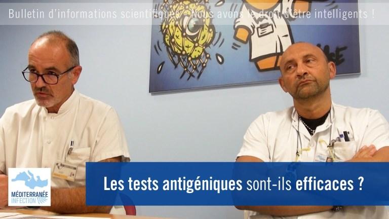 Les tests antigéniques sont-ils efficaces ?
