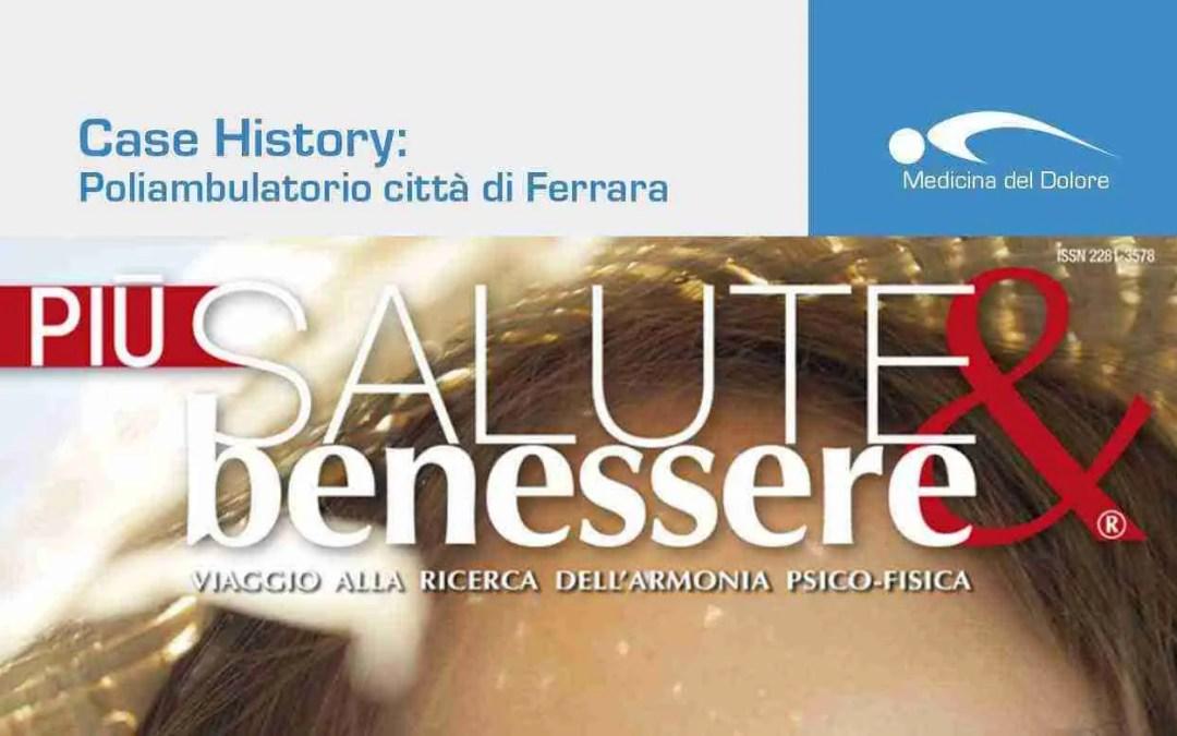 Il Poliambulatorio Città di Ferrara su Più Salute e Benessere
