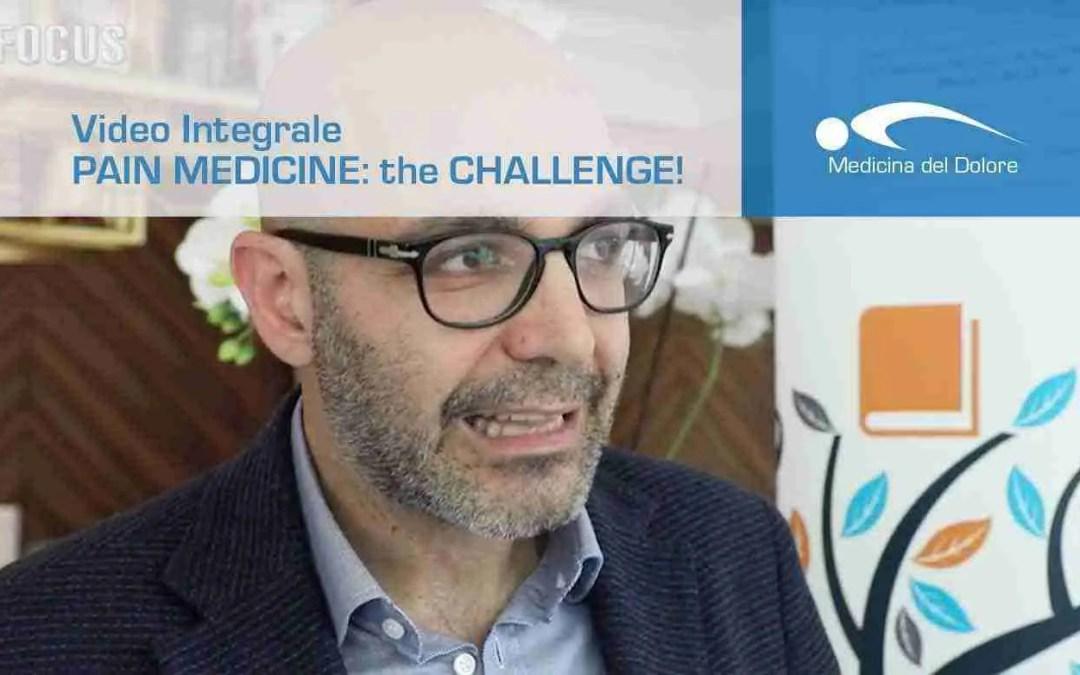 Pain medicine: the challenge, aggiornamenti in Medicina del Dolore a Rimini.