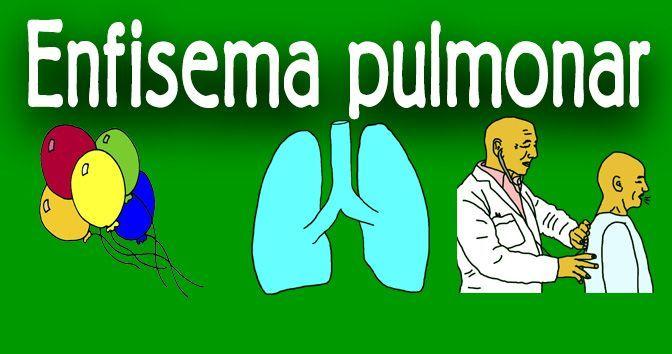 Enfisema pulmonar en la Medicinapedia