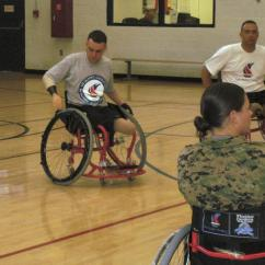 Wheelchair Volleyball Cane Occasional Chairs Military Paralympics This Disabled Vet Is Trying Out For The First Time