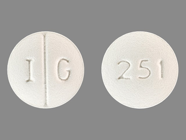 Pill Finder: I G 251 White Round - Medicine.com
