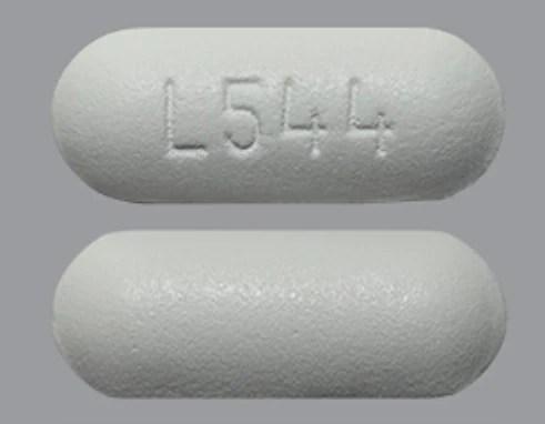 Pill Finder: L544 White Capsule-shape - Medicine.com