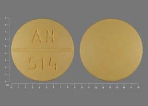 Pill Finder: AN 514 Yellow Round - Medicine.com