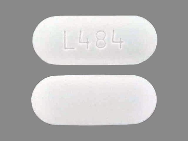 Pill Finder: L484 White Capsule-shape - Medicine.com